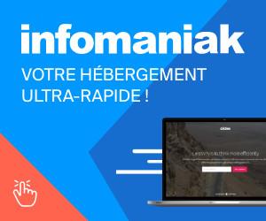 Infomaniak hébergement web