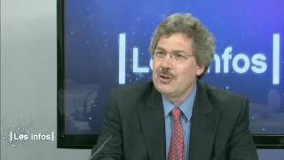 Michel Aymon à la télé.