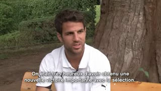 L'interview de la rdaction - Cesc Fabregas