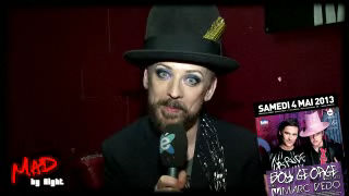 MAD by night - Boy George