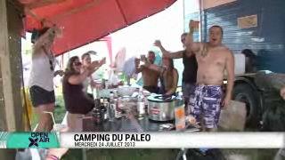Le camping de Paléo