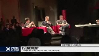 Le Starling Hôtel de Lausanne fait son show