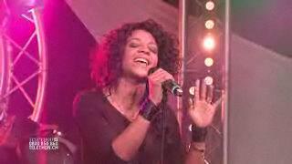 Louisy Joseph chante pour le Téléthon