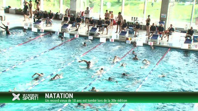 Le vieux record des 24 heures de natation de Lausanne battu
