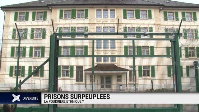 Prisons surpeuplées: la poudrière ethnique?