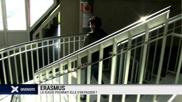 Erasmus : la Suisse pourrait-elle s'en passer ?