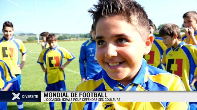 Mondial de football: la rencontre des communautés étrangères