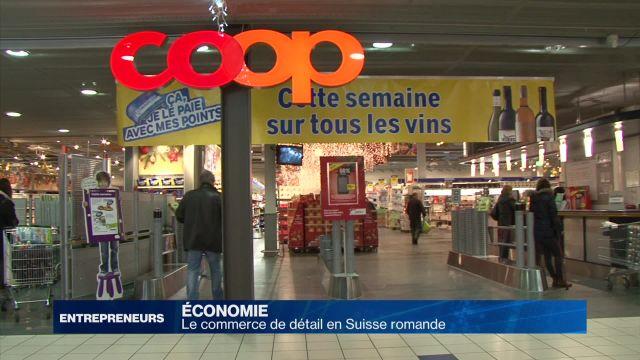 Le commerce de détail en Suisse romande