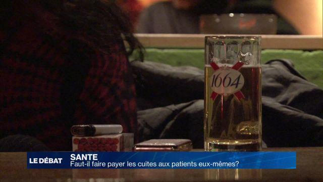 Les patients alcoolisés doivent-ils payer l'hospitalisation?