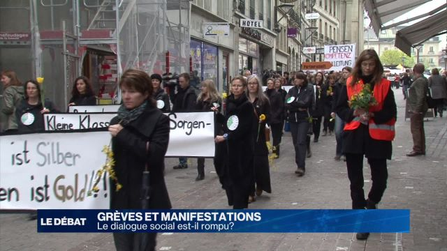 Grèves et manifestations: la fin du dialogue social?