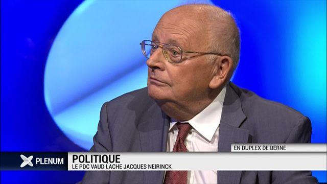 Jacques Neirynck répond au PDC vaudois