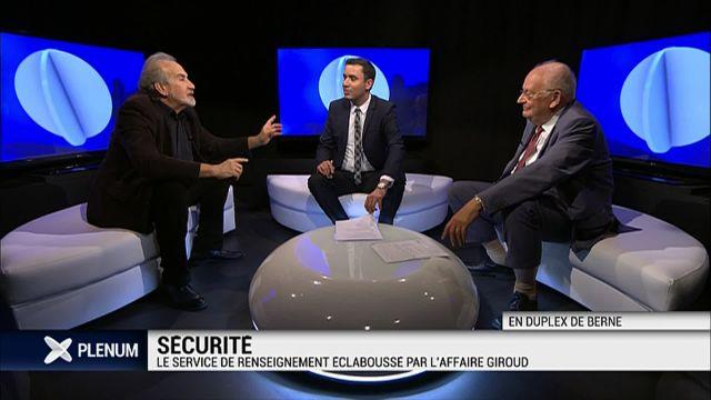 Le Service de renseignement éclaboussé par l'affaire Giroud