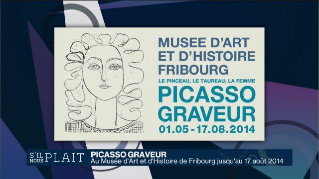 Picasso graveur à Fribourg 1/2