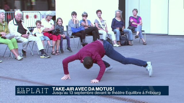 Take-air avec Da Motus!