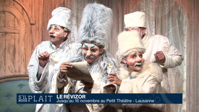 Le Révizor: du théâtre cynique et drôle pour les enfants