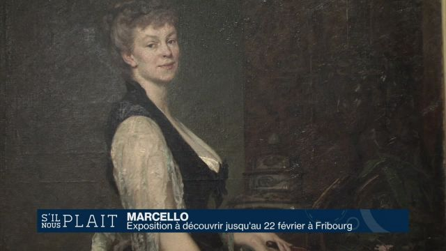 Marcello: artiste fribourgeoise et femme du monde