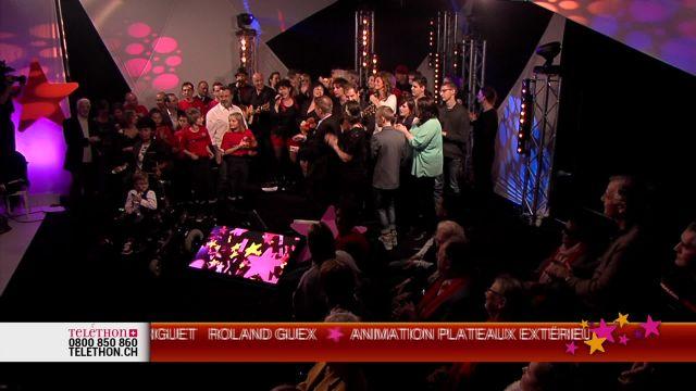 Dernière partie du Téléthon 2014