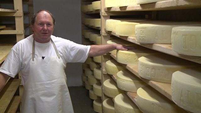 La fromagerie de l'Alpage des Prés-de-Bière.