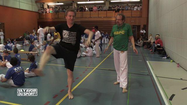 Roland Guex découvre la capoeira