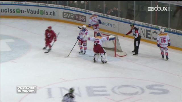 Hockey : Lausanne s'impose 2-1 face à Kloten