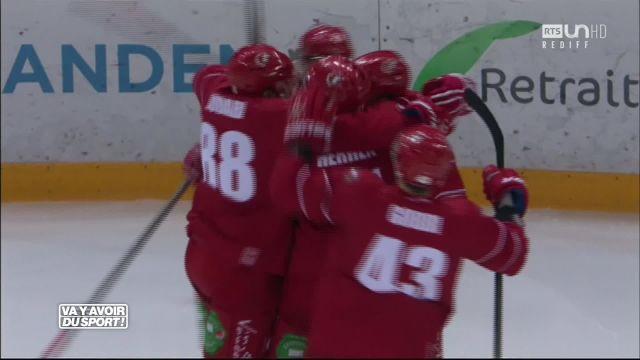 Lausanne s'impose 6-3 face à Langnau