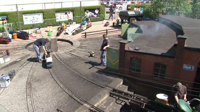 Festival international de la vapeur au Bouveret