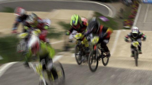 Compétition internationale de BMX Race