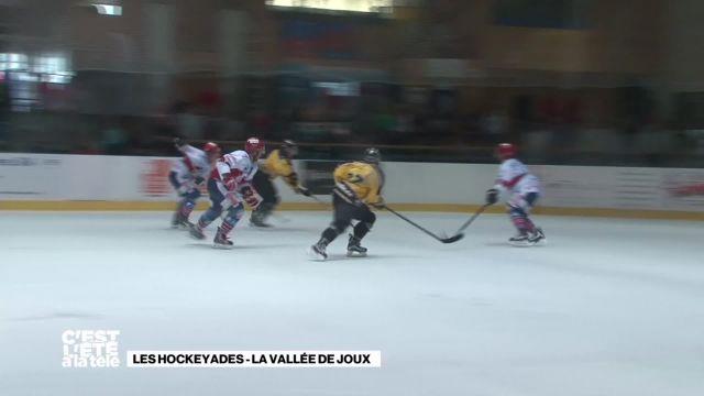 La Télé joue au hockey en plein été à la Vallée de Joux
