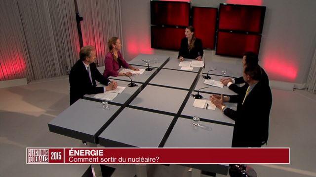 Des candidats débattent de la sortie du nucléaire