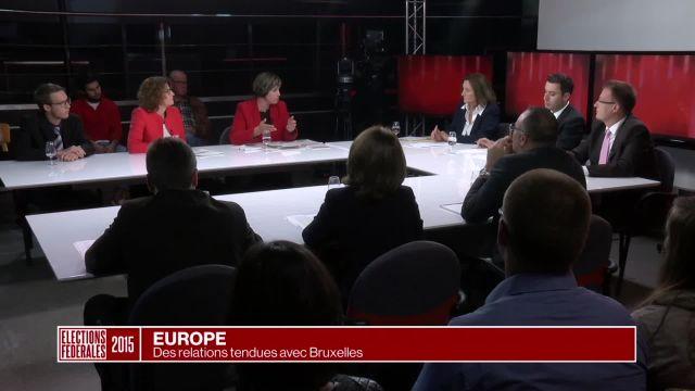 Des relations tendues avec Bruxelles