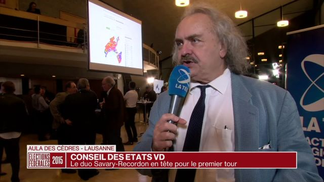 Conseil des États VD: le duo Recordon-Savary rempile à Berne