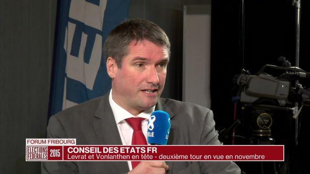Conseil des États FR: résultats du premier tour