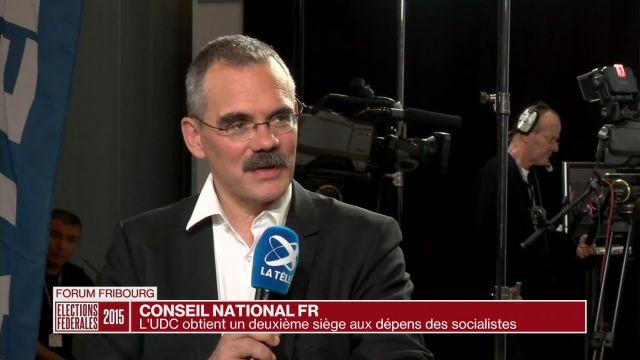 PS et UDC commentent les résultats du Conseil national FR
