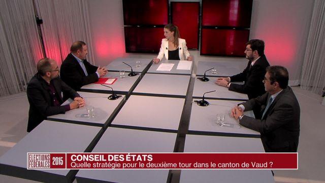 Vaud: les enjeux du deuxième tour pour les Etats
