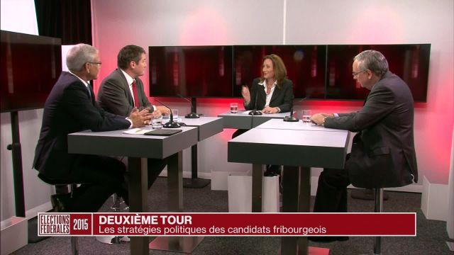 Deuxième tour de l'élection au Conseil des Etats à Fribourg
