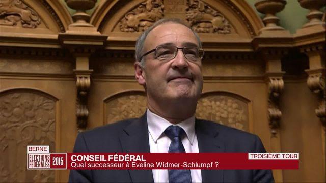 Guy Parmelin est le 15ème Conseiller Fédéral vaudois