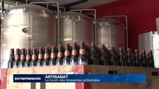 L'essor des brasseries artisanales