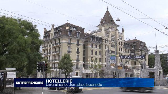 La renaissance d'un palace lausannois