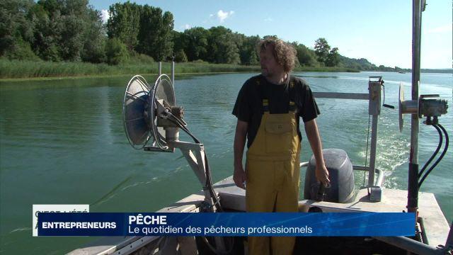 Le quotidien des pêcheurs professionnels