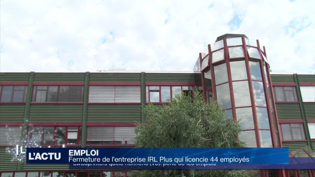 Fermeture d'IRL plus à Renens - 44 licenciements à la clé