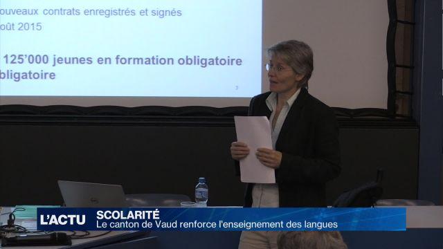Vaud met l'accent sur l'apprentissage des langues