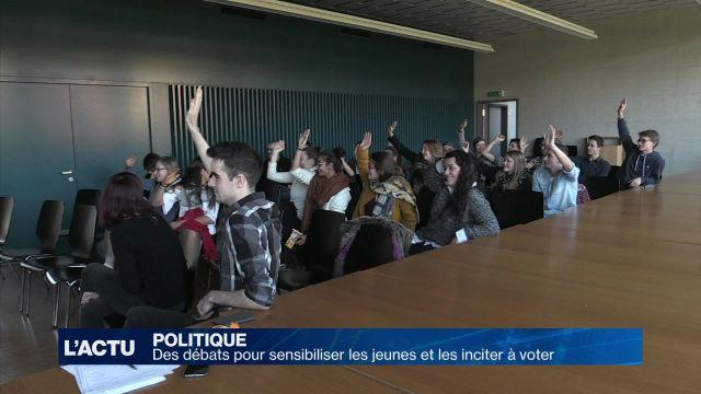 Des débats pour inciter les jeunes à voter
