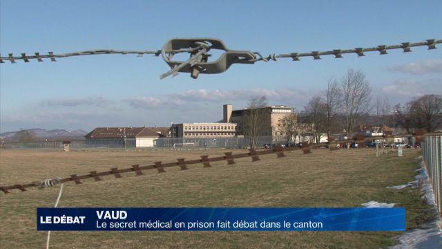 Quel secret médical en prison dans le canton de Vaud ?