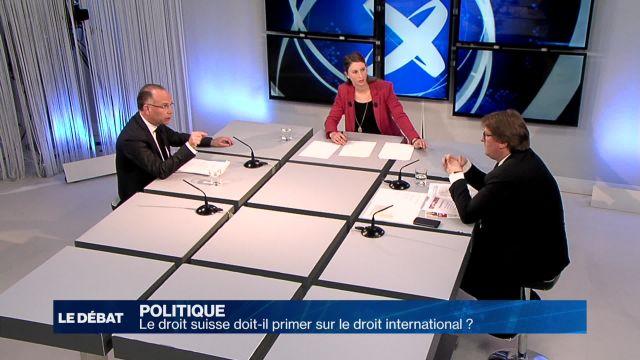 Le droit suisse doit-il primer sur le droit international ?
