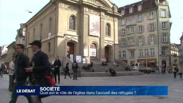 Quel est le rôle de l'église dans l'accueil des réfugiés ?