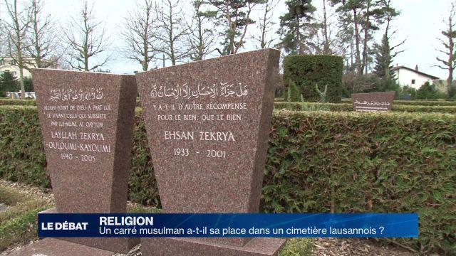 Que fait un carré musulman dans un cimetière lausannois ?