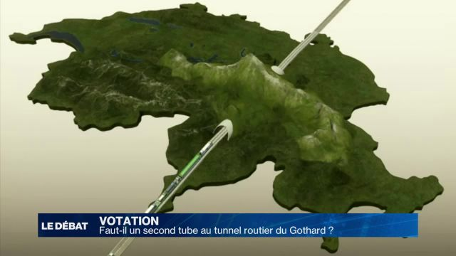 Faut-il un second tunnel routier au Gothard ?