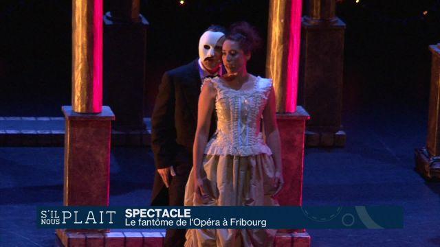 Le fantôme de l'Opéra enflamme Equilibre