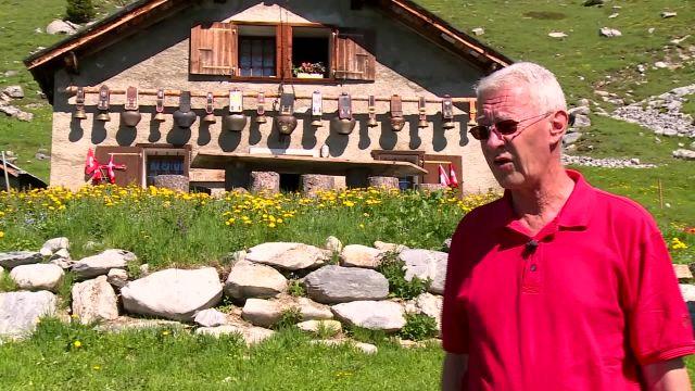 Une cabane de montagne 100% bio en Valais