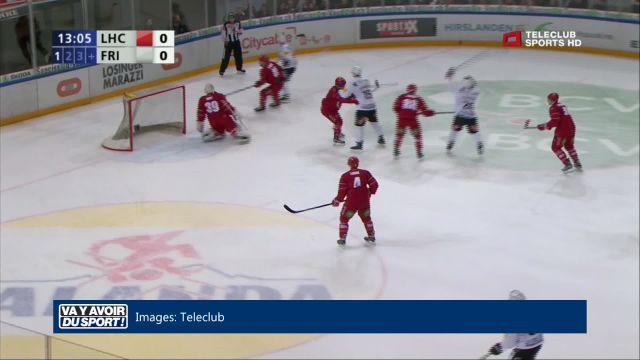 Fribourg-Gottéron retrouve des couleurs contre Lausanne